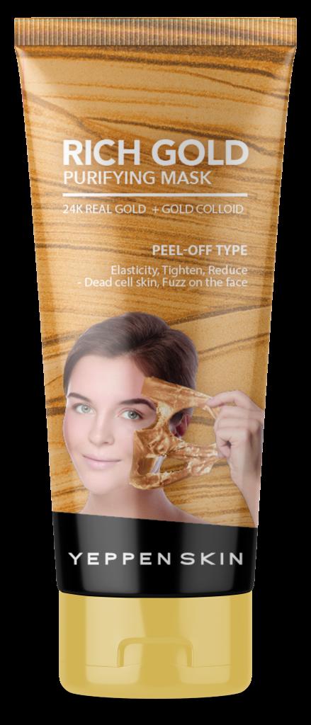 Dermal Yeppen Skin Rich Gold Purifying Peel Off Face Mask