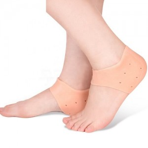 Cushion Heel Protector Moisturizing Silicone Gel Heel Socks