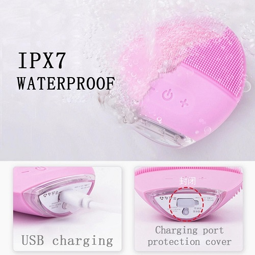Waterproof Electric Facial Cleansing Brush