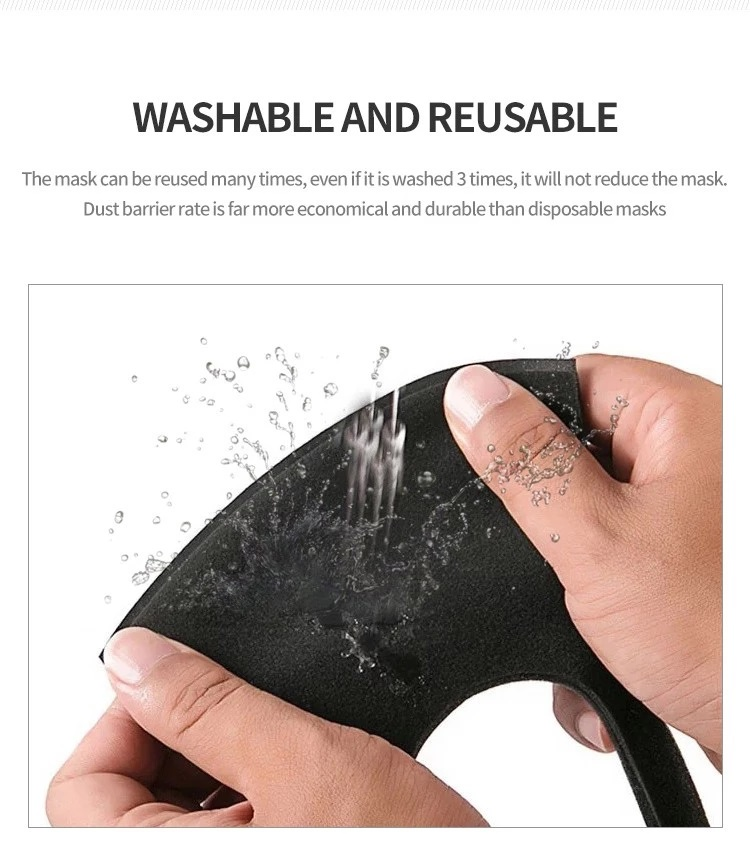 Anti Dust Pollution Mask for Bike Riders